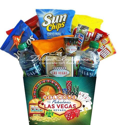 Las Vegas Vacation Snacks Gift Basket