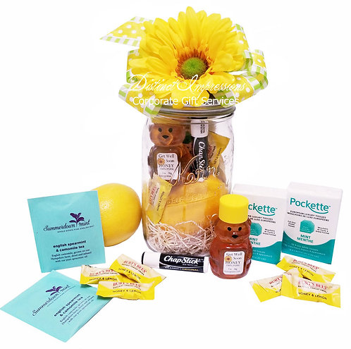 Get Well Soon - Mason Jar Gift
