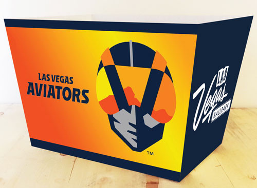 Custom Las Vegas Aviators Box