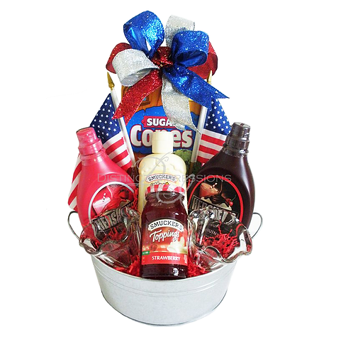 All American Ice Cream Bucket
