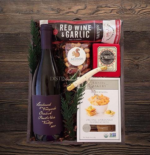 Artisan Gourmet Red Wine Gift Tray