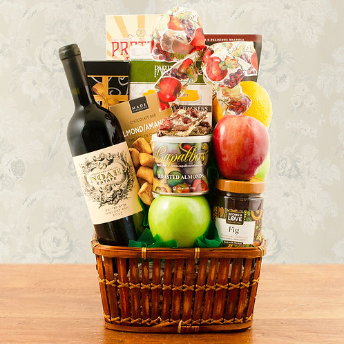 Sea Of Galilee Fruit & Red Wine Kosher Gift
