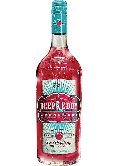Deep Eddy Flavored Vodka - Cranberry