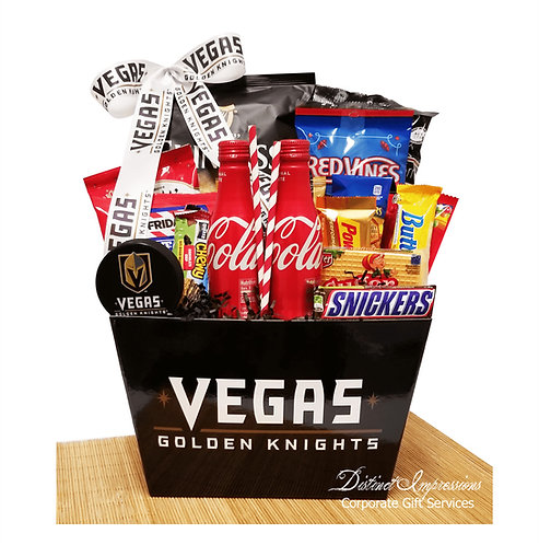 Las Vegas Golden Knights - Snack Gift Basket