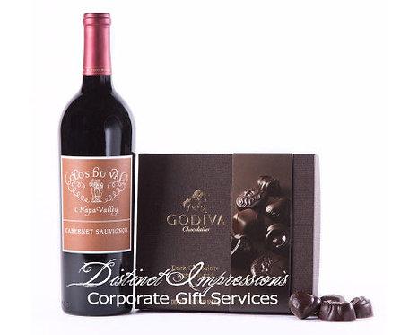 Napa Valley Cabernet & Godiva® Gift