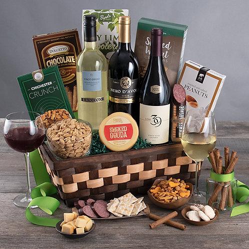 Wine Cellar Gourmet Wine Gift Basket