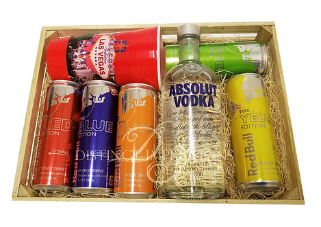 Absolut Vodka and Red Bull Gift