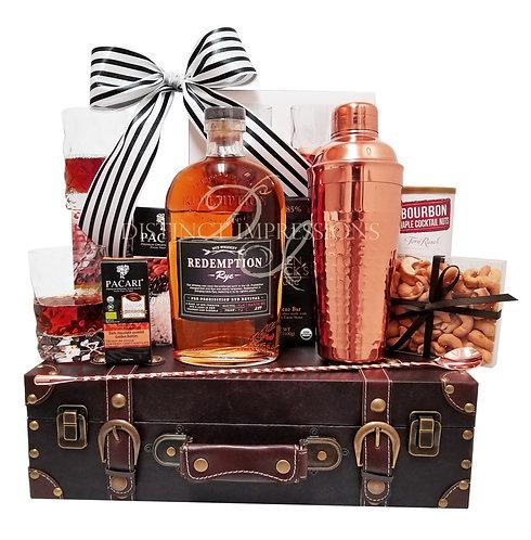 Redemption Rye Whiskey Gift Basket