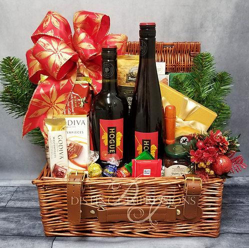 Holiday Fireside Picnic Gift Basket