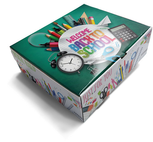 Welcome Back to School - Themed Gift Box