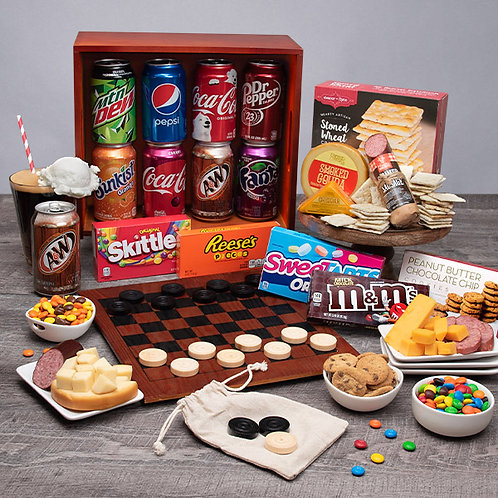 Family Game Night Gift Crate