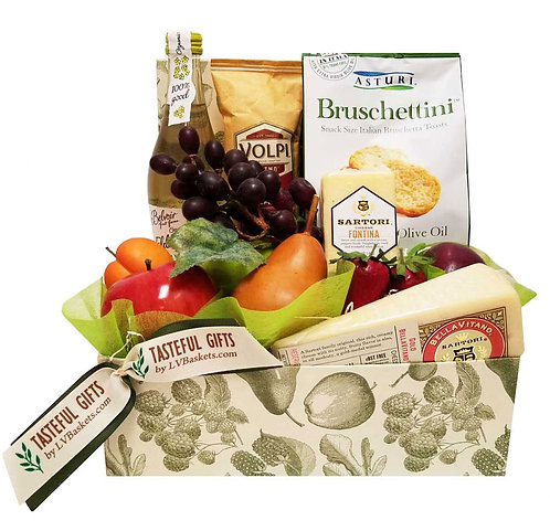 Classic Fruit and Cheese Box (NON-Alcoholic)