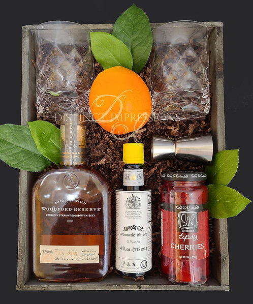 Classic Bourbon Old Fashion Curated Gift Tray