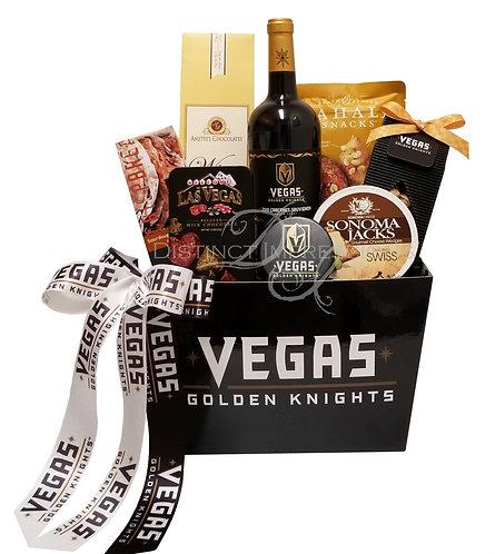 Las Vegas Golden Knights - Wine Gift Basket