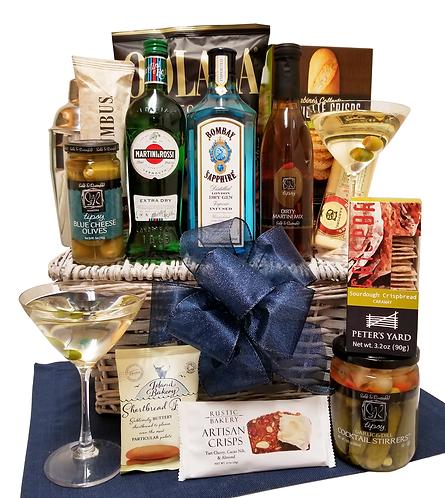 Bombay Sapphire Gin Martini Gift Hamper