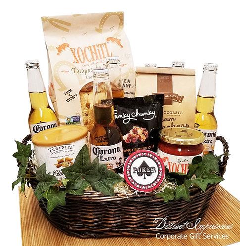 Corona Beer Fiesta Celebration Gift Basket