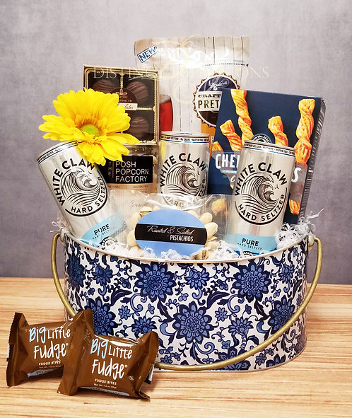 French Inspired White Claw Hard Seltzer Gift Tin