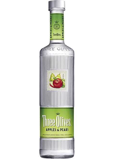 Three Olives Vodka - Apple and Pear Flavored