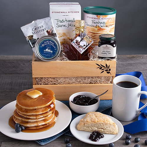 New England Breakfast Classic Gift Crate