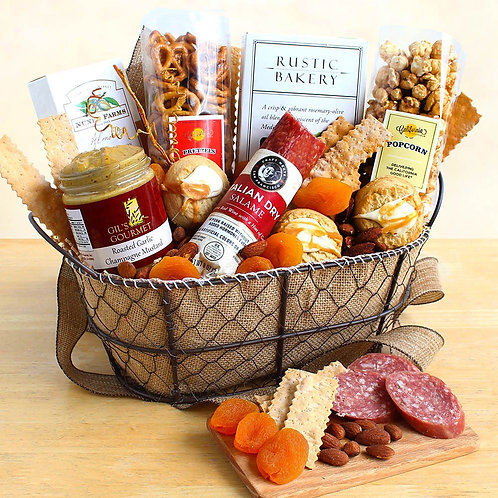 California Bountiful Gourmet Gift Basket