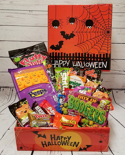 Halloween Trick or Treat Candy Gift Box