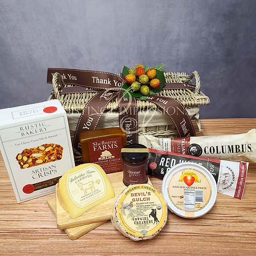 Artisan Gourmet Meat and Cheese Hamper