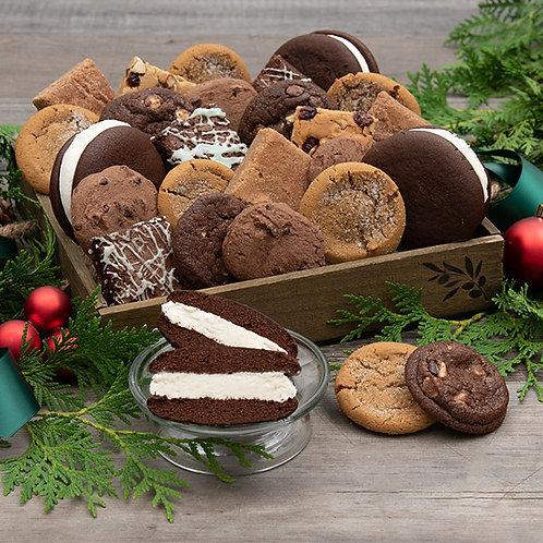 Seasons Greetings Baked Goods Gift Crate