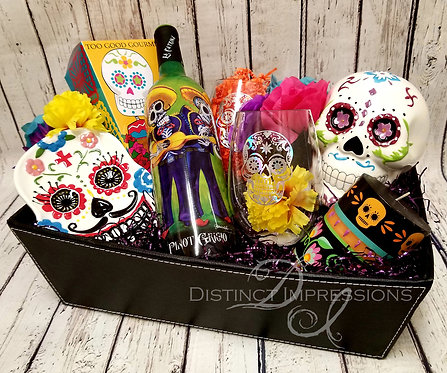 Day of the Dead Halloween Gift Tray