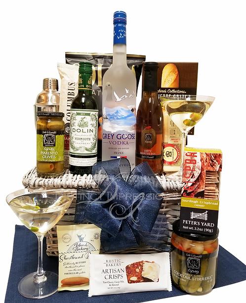 Grey Goose Vodka Martini Gift Basket