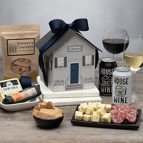From Our Home To Yours! Wine & Cheese Gift Box