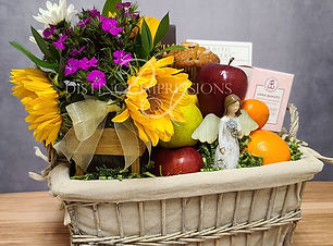 In a Time of Sorrow Sympathy and Condolence Gift Basket