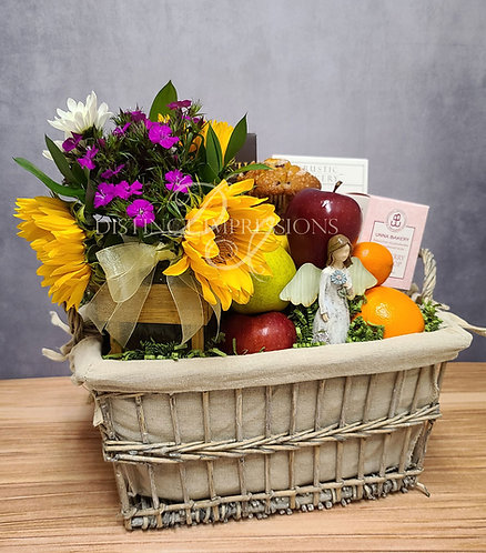 In a Time of Sorrow Sympathy Gift Basket