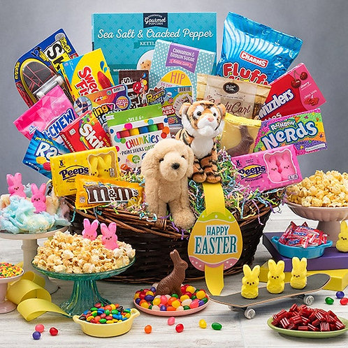 Over-The-Top Kids Easter Gift Basket