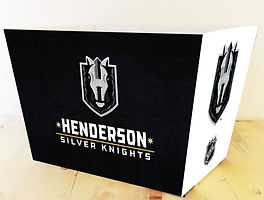 Henderson Silver Knights Large Basket Box