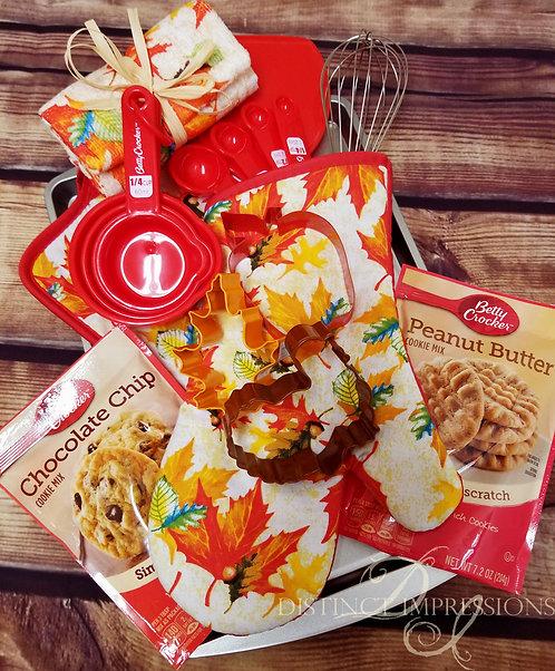 Thanksgiving Cookies Baking Gift Tray