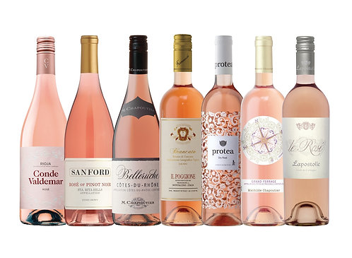 750ml Pink & Rose Wine Selections