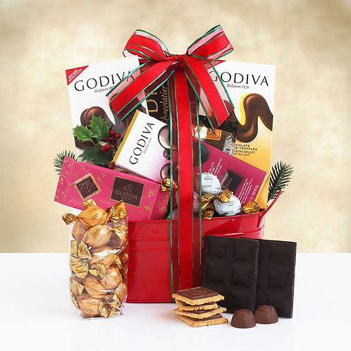 Holiday Godiva Chocolate Gift