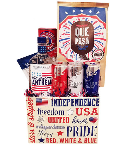 Let Freedom Ring - 4th of July Basket