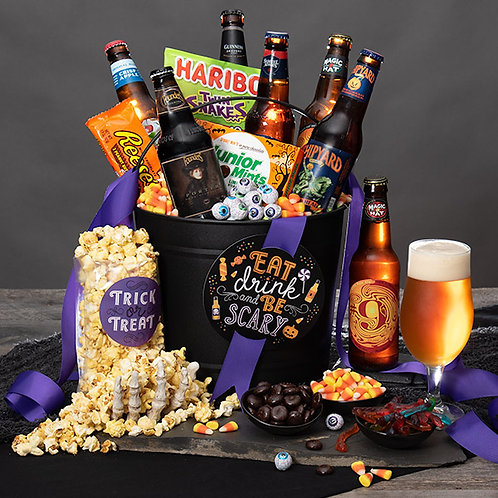 Eat, Drink and Be SCARY Halloween Beer Bucket