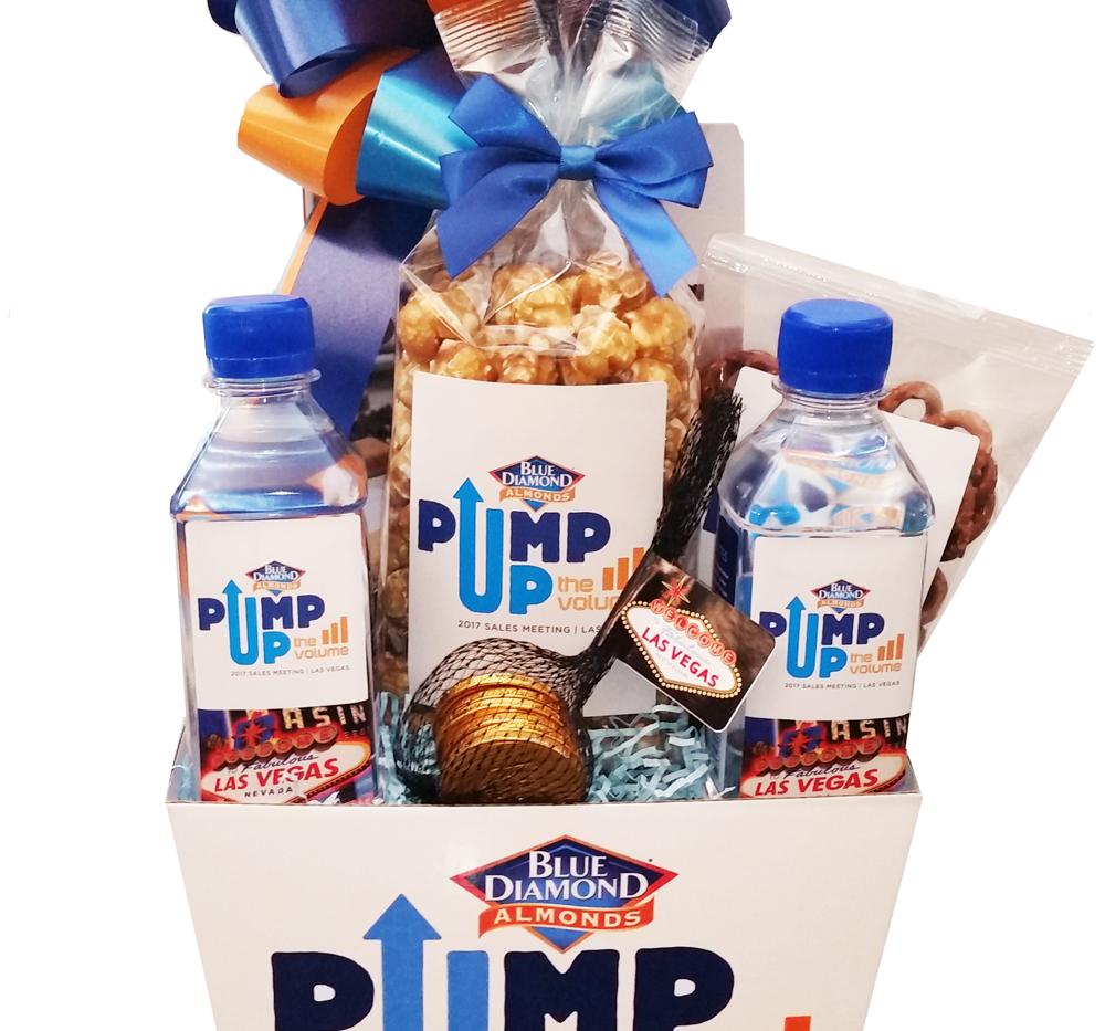 Custom Blue Diamond Gift Box