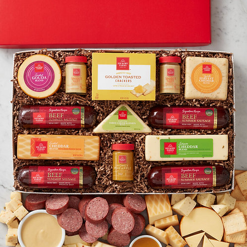 Hickory Farms Party Time Celebration Gift
