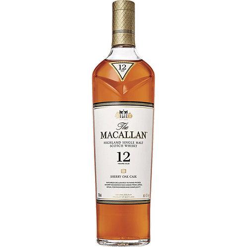 Macallan 12 Year Triple Cask - Full Size Bottle
