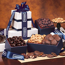 Corporate Kosher Gifts with Personalization. Boxed Gifts with Company Logo