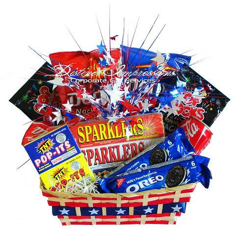 Patriotic Bang - Fireworks Gift Design