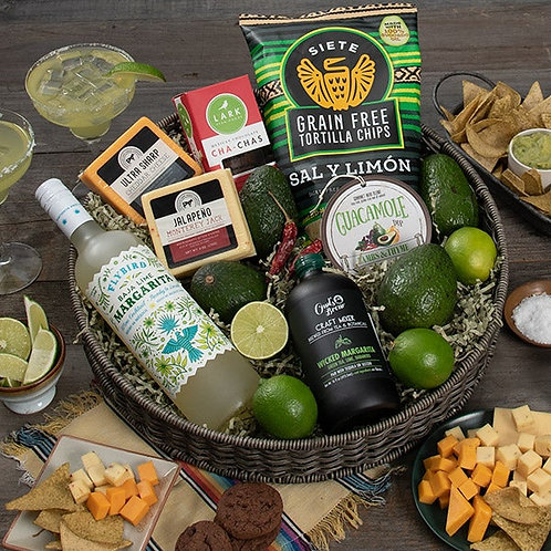 Chippin' Dippin' And Margarita Sippin' Gift Tray