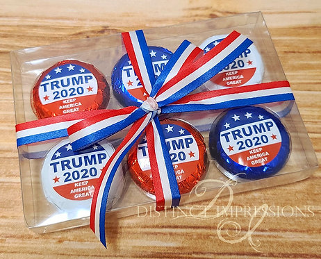 Trump 2020 Chocolate Covered Oreo Cookies