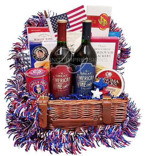 The Great American Wine Gift Basket