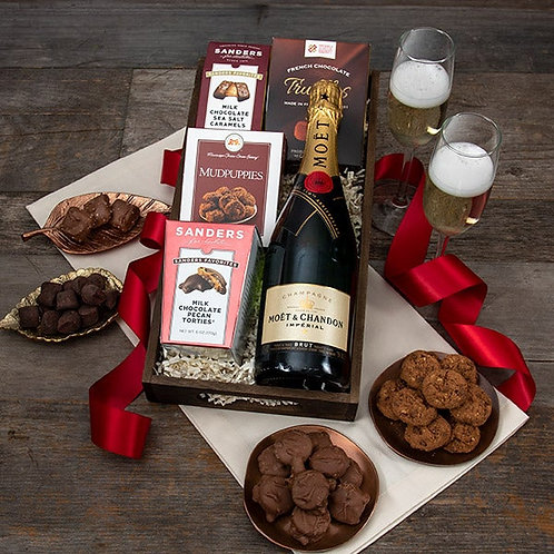 Moët Champagne & Chocolate Pairing Gift