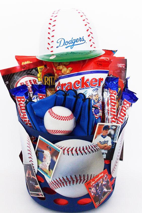 Custom Dodgers Baseball Gift