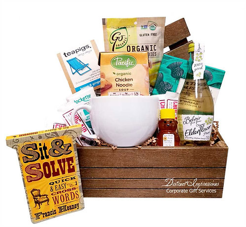 Be Well Soon Get Well Gift Basket